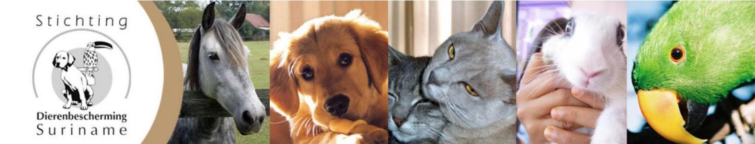 Stichting dierenbescherming header